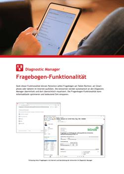 Diagnostic Manager Fragebogen DE