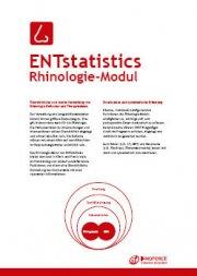 ENTstatistics Rhinologie PDF-Broschüre DE
