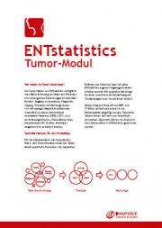 ENTstatistics Tumour PDF-Broschüre DE
